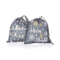 Timeless Memory Pouches, Small - Snowy Slopes