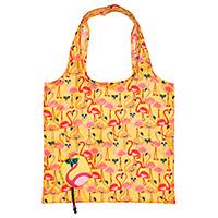 Foldaway Tote - Pink Flamingo