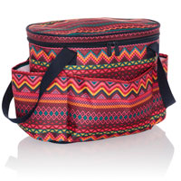 Get Creative Round Caddy - Sierra Stripe