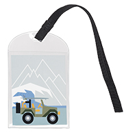 Take Along Bag Tag - Off Roadin'