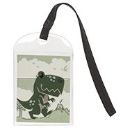 Take Along Bag Tag - Dino Parade