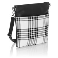 Organizing Shoulder Bag Ltd. - Buffalo Check Pebble