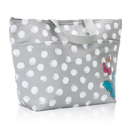 Thermal Tote - Butterfly Swirl Dot