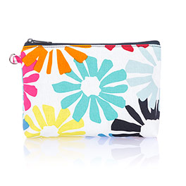 Mini Zipper Pouch - Bloomin' Bouquet