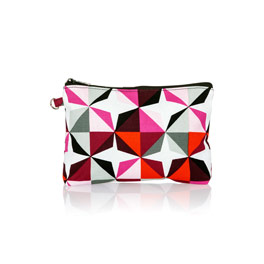 Mini Zipper Pouch - Origami Pop