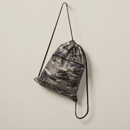 Cinch Sac - Camo Crosshatch