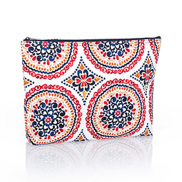 Zipper Pouch - Sunset Medallion