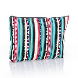 Zipper Pouch - Southwest Stripe