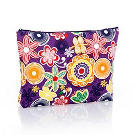 Zipper Pouch - Floral Fiesta
