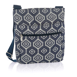 Organizing Shoulder Bag - Dotty Hexagon