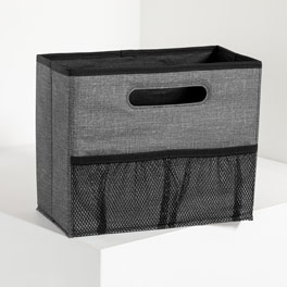 Fold N' File - Charcoal Crosshatch
