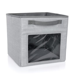 Your Way Cube - Light Grey Crosshatch