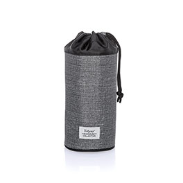 Bring-A-Bottle Thermal - Charcoal Crosshatch