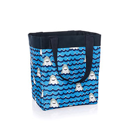 Essential Storage Tote - Shark Party