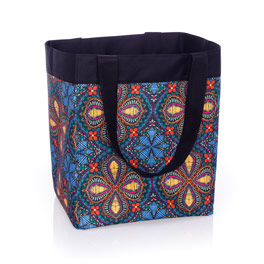 Essential Storage Tote - Stitched Medallion