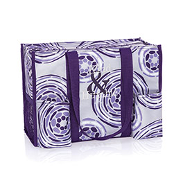 Zip-Top Organizing Utility Tote - Geo Pop