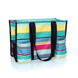 Zip-Top Organizing Utility Tote - Patio Pop