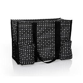 Zip-Top Organizing Utility Tote - Ditty Dot