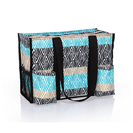 Zip-Top Organizing Utility Tote - Etched Elements