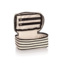 Baubles & Bracelets Case - Twill Stripe