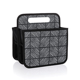 Double Duty Caddy - Chevron Squares