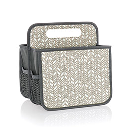Double Duty Caddy - Chevron Charm