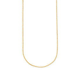 #3 Ball Chain - 24 inch - Gold Tone