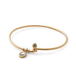Cherish Bracelet - Gold Tone