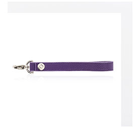 Wristlet Strap - Posh Purple Pebble