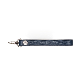 Wristlet Strap - Midnight Navy Pebble