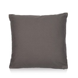 Statement Canvas Pillow Cover 18x18 - City Charcoal