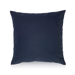 Statement Canvas Pillow Cover & Insert 18x18 - Navy