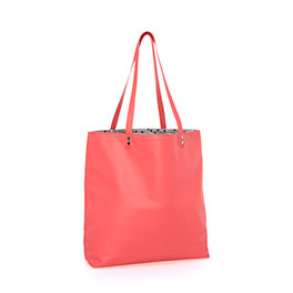 Around Town Tote - Calypso Coral Pebble