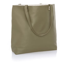 Around Town Tote - Ooh-la-la Olive Pebble