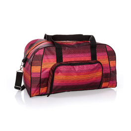 All Packed Duffle - Ombre Stripe