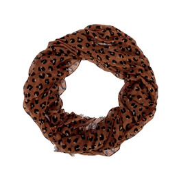 Avenue Scarf - Lovely Leopard