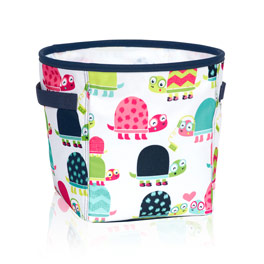 Mini Storage Bin - Topsy Turtles