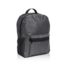 Lil' Go Backpack - Charcoal Crosshatch