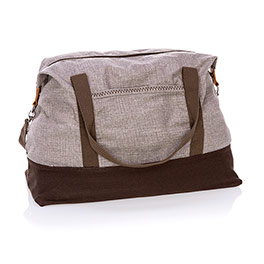 Retro Metro Weekender - Mocha Crosshatch