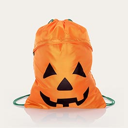 Cinch Sac - Playful Pumpkin
