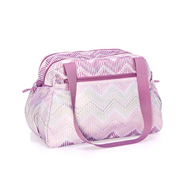 Take The Day Diaper Bag - Chevron Stitch