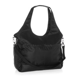 City Park Diaper Bag - Black Beauty