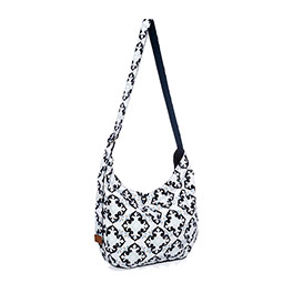 Retro Metro Hobo Crossbody - Fab Flourish