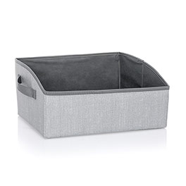 Your Way Display Bin - Light Grey Crosshatch