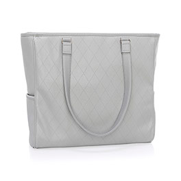 Cindy Tote Ltd. - Whisper Grey Diamond Pebble
