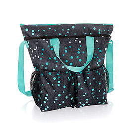 Crossbody Organizing Tote - Cool Confetti