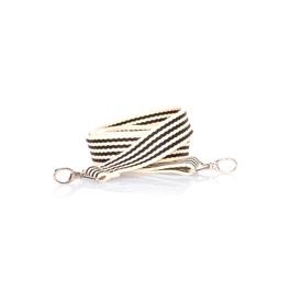 Studio Thirty-One Crossbody Strap - Black Stripe Web