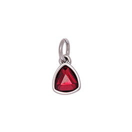 Celebration Birthstone Charm - January Garnet