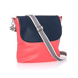 Studio Thirty-One Modern - Calypso Coral Pebble w/ Midnight Navy Pebble
