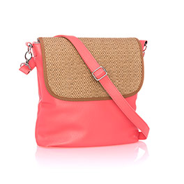 Studio Thirty-One Modern - Calypso Coral Pebble w/ Diamond Straw